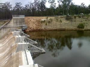 Lenthalls Dam Crest Gates